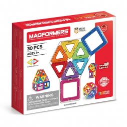 Магнитный конструктор MAGFORMERS Набор 30/Rainbow